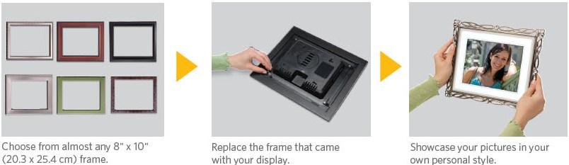 Amazon.com : Kodak EasyShare D830 Digital Picture Frame