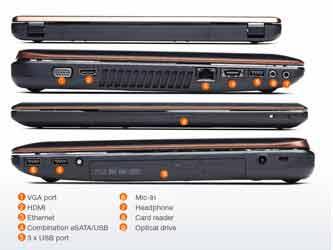 Description: Description: Lenovo IdeaPad Y570 Specs