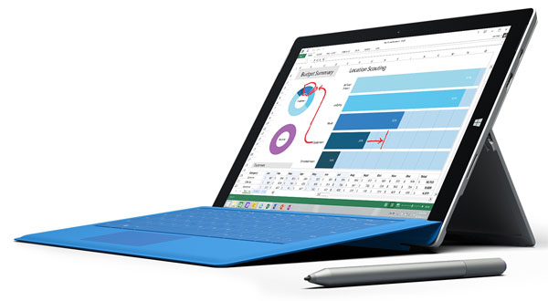 Amazon.com : Microsoft Surface Pro 3 8GB/256GB - PS2-00001 : Computers