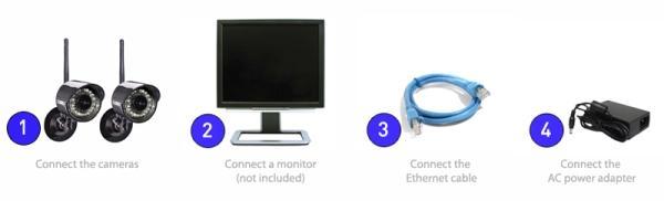 Amazon Com Lorex Edge 4 Channel Video Security Dvr With