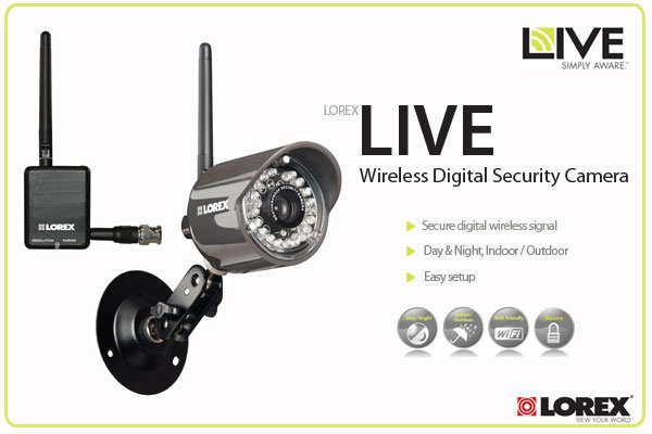 Lorex LIVE Wireless Digital Security Camera - LW2110