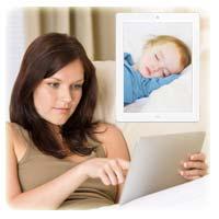 Connect via iPad and iPad 2