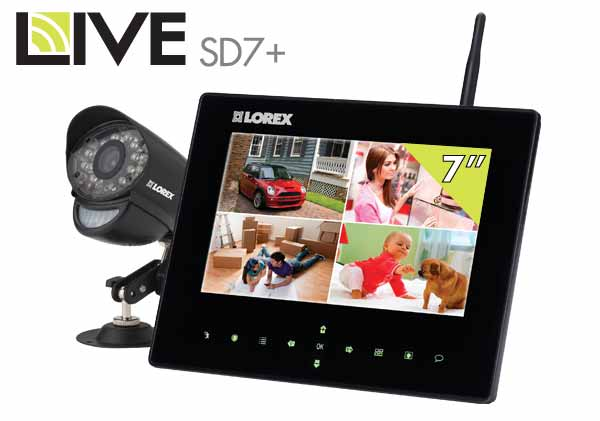 LW2731 Wireless Video Monitoring System