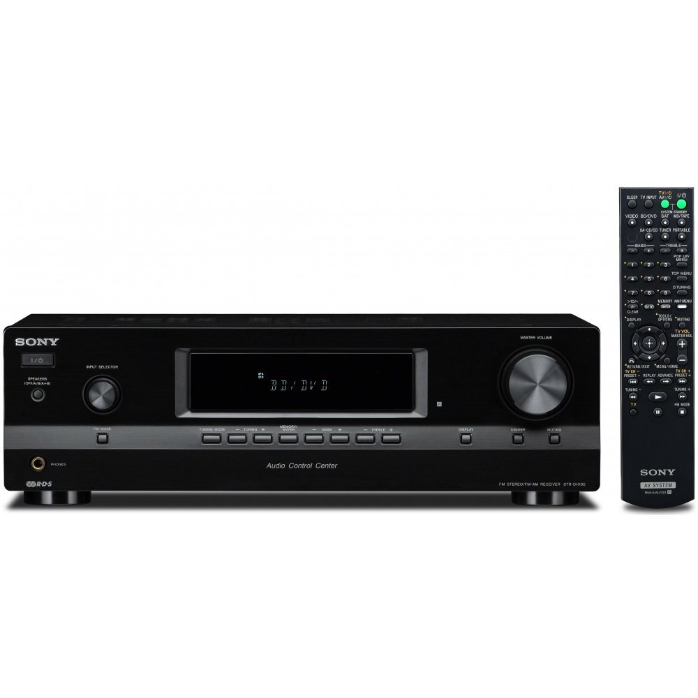 home theater receiver 5 1. sony strdh130 2 channel stereo receiver (black) home theater 5 1 r
