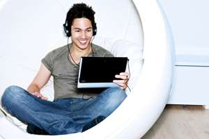 Sony Tablet S1 play