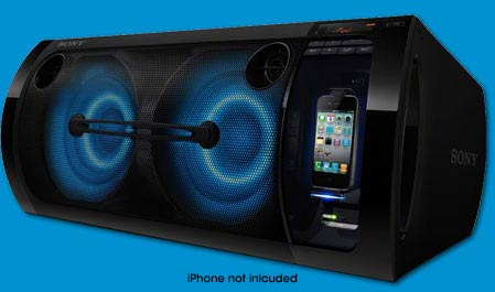 Amazon Com Sony Rdh Gtk33ip Hi Fi Music System Home