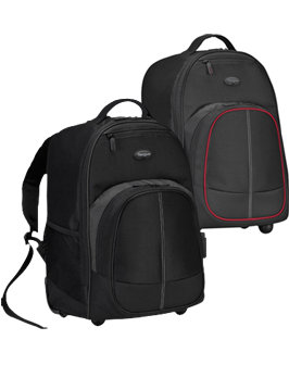 Amazon.com: Targus Compact Rolling Backpack for 16-Inch Laptops ...