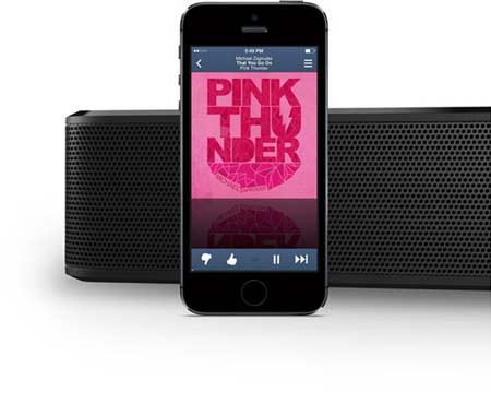 Wirelessly stream your music