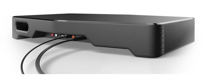 VIZIO Sound Stand rear ports