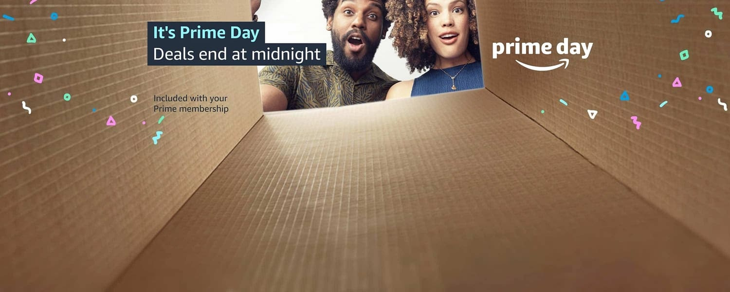 It's Prime Day; Deals end at midnight