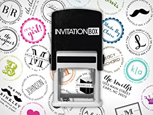 Personalized Stamper with Custom Faceplate