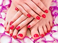 Spa Manicure and Pedicure Package
