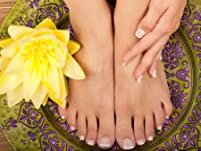 Manicure and Pedicure of your choice