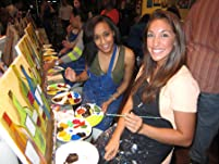 Painting Class at Pinot's Palette