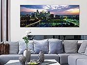 City Skyline Print