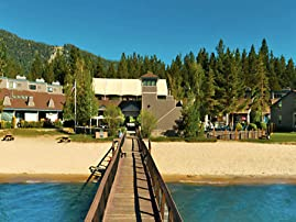 Lakeside Village with Private Beach and Ski Shop