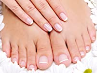 Mani/Pedi with Massage, Oils, Scrub, and Paraffin