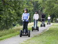 Electric Bike Rental or Segway Tour from The Garage OTR