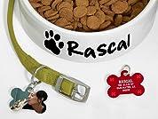 Custom Pet Bowl and Pet Tag
