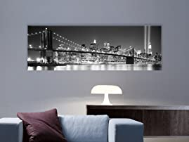 Landmark Bridge Art Canvas with Shipping