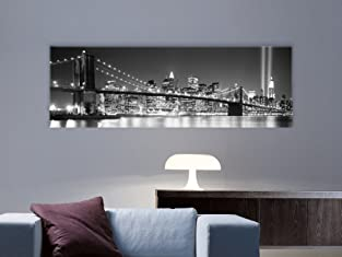 Bridge Art Canvas with Shipping