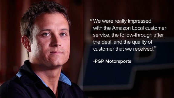 PGP Motorsports Quote on Amazon Local