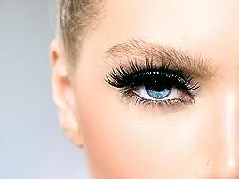 Full Set of Mink or Silk Eyelash Extensions