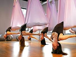 Five 50-Minute Aerial Yoga Classes