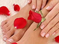 Spa Manicure and Spa Pedicure