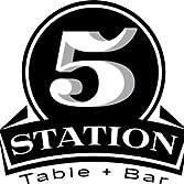 Station 5 Table & Bar