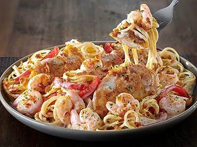 chicken shrimp carbonara - Olive Garden Chicken Scampi Recipe