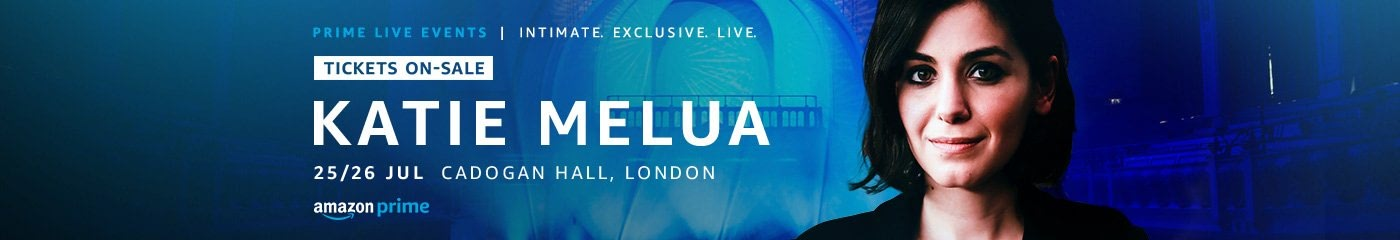 Katie Melua  Prime Live Event tickets
