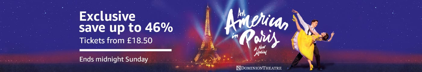 Exclusive An American In Paris - save up to 46%