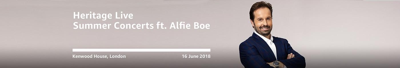 Alfie Boe on Amazon Tickets