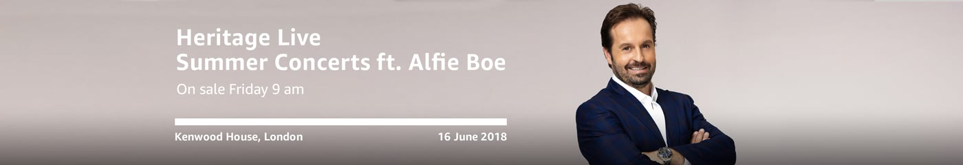 Alfie Boe on Amazon Tickets