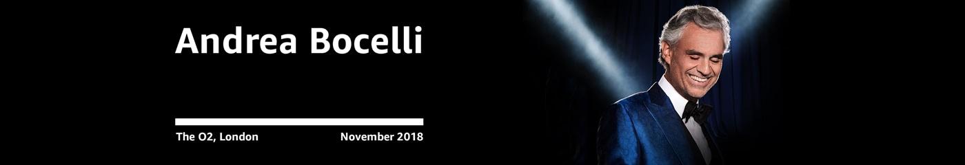 Andrea Bocelli on Amazon Tickets