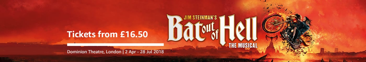 Bat Out Of Hell on Amazon Tickets