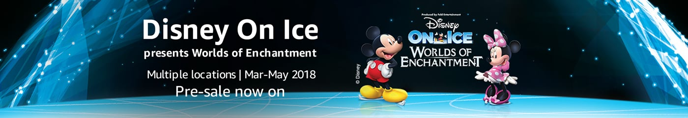 Disney On Ice on Amazon Tickets