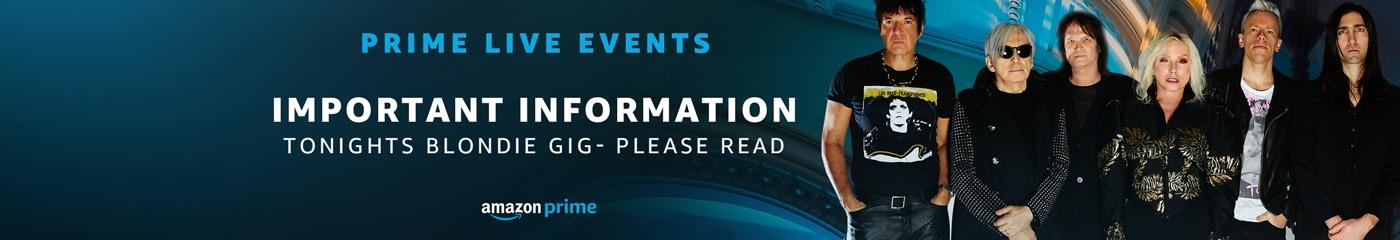 Blondie Prime Live Event tickets