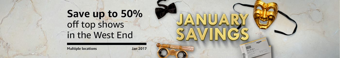 January Savings on West End tickets