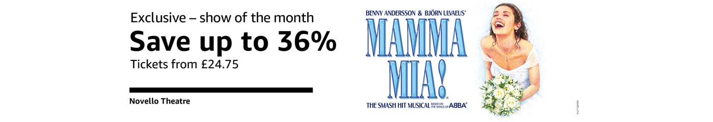 Mamma Mia Show of the Month on Amazon Tickets