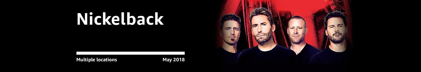 Nickelback on Amazon Tickets