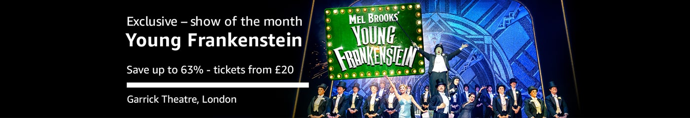 Young Frankenstein Show of the Month on Amazon Tickets