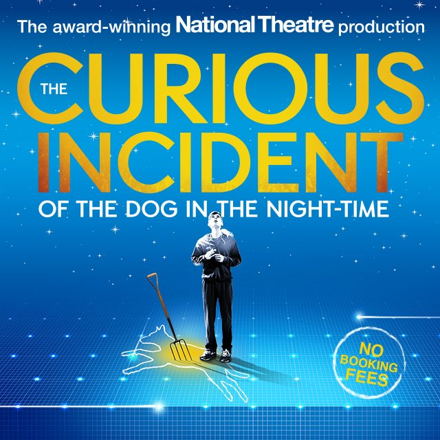 The Curious Incident of the Dog in the Night-Time Amazon Tickets