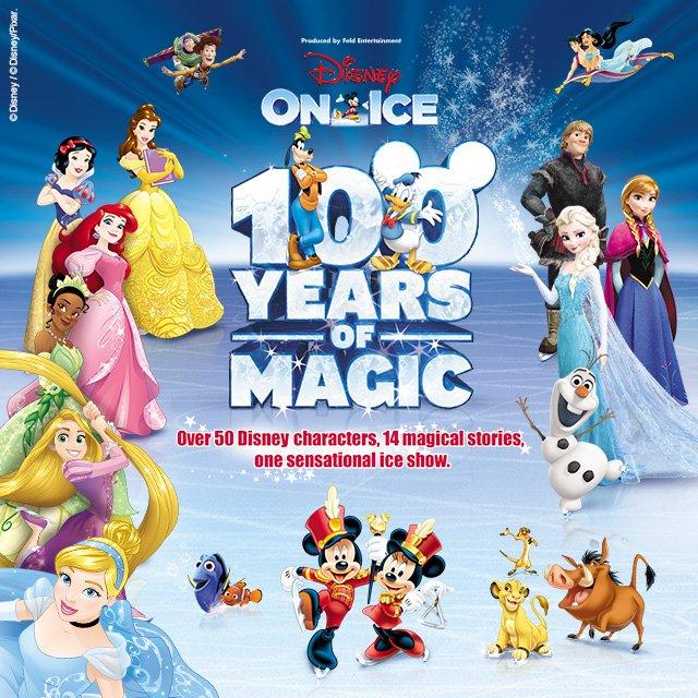 Disney on Ice 100 Years amazon tickets