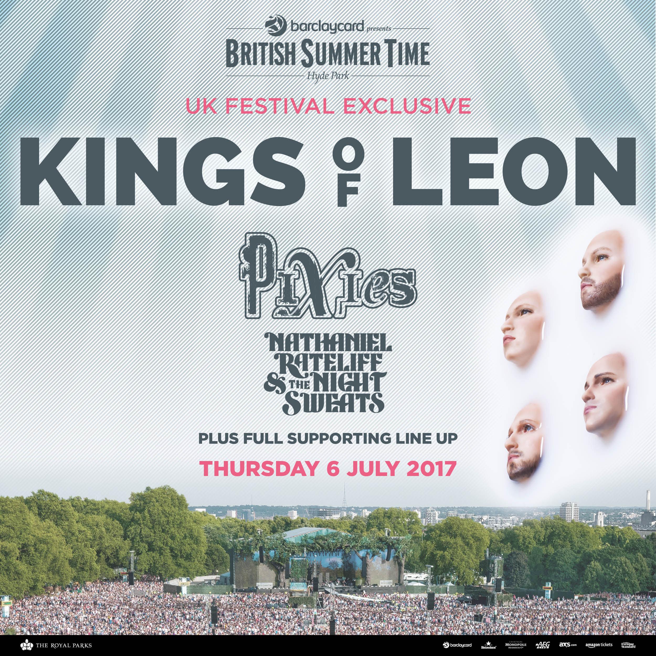 Kings of Leon Amazon tickets