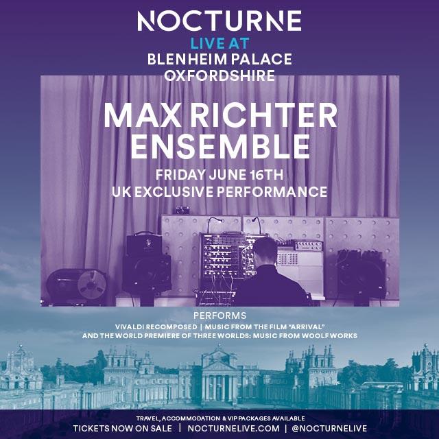 Max Richter Nocturne Live Festival