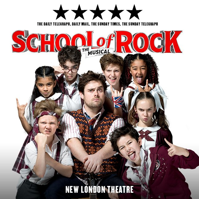 School of Rock Amazon Tickets