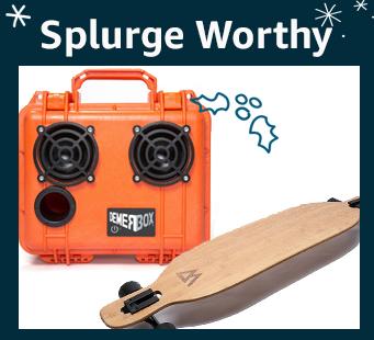Splurge worthy