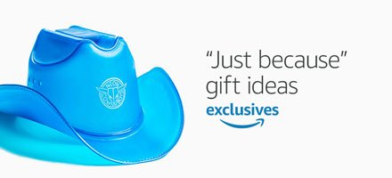 Amazon Exclusives: Just because gift ideas